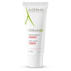 A-Derma Hydralba crème hydratante légère