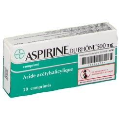 aspirine du rhone