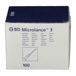 BD Microlance™3 Lot de 100 Aiguilles 27G x 3/4 (0,4 x19 mm)