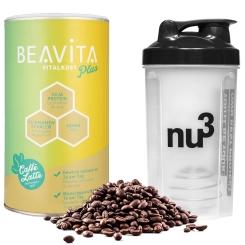 BEAVITA Vitalkost Plus, Cookies-Cream + Nu3 Shaker