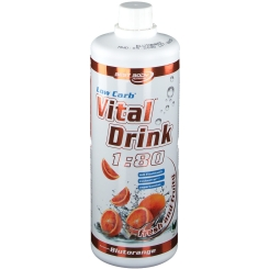 Best Body Nutrition Low Carb Vital Drink orange sanguine