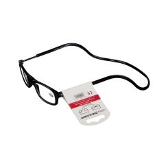 CLIPYREADER® Lunettes de lecture avec un aimant Noir +1.50