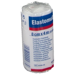 Elastomull® Bandage de fixation élastique 8 cm x 4 m