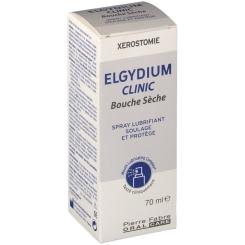 Elgydium Clinic bouche sèche spray lubrifiant - shop-pharmacie.fr