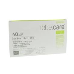 Febelcare Gaze Stérile 5x5cm