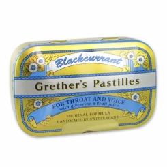 Grethers Pastilles Blackcurrant