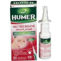 HUMER Nez très bouché Sinusite Rhume