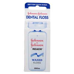 Johnson Reach Dental Floss Waxed