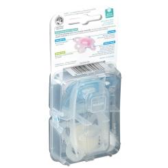 MAM Sucette anatomique silicone 0 à 6 mois (Couleur non sélectionnable)