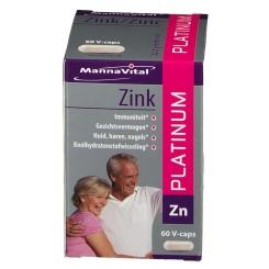 Mannavital Zinc Platinum V-Caps