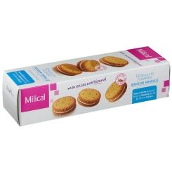 Milical Nutrition biscuits fourrés vanille - shop-pharmacie.fr