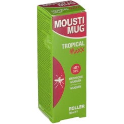 Moustimug Tropical Maxx Roller 50% DEET