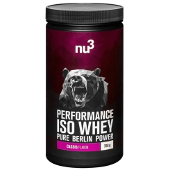 nu3 Performance Whey Isolate Cassis