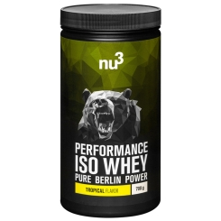 nu3 Performance Whey Isolate, Tropical