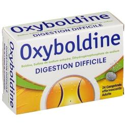 oxyboldine digestion difficile