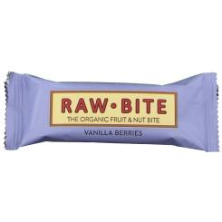 RAW BITE Bio Barres Baies de vanille