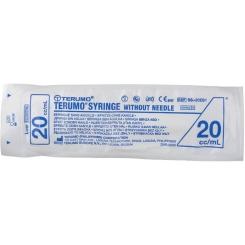 Seringue Jetable 20 ml Terumo Sans Aiguille Luer Ss-20e