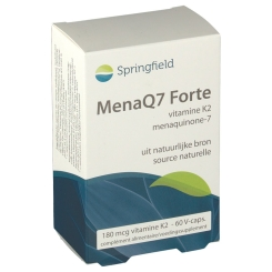 Springfield MenaQ7 Forte Vitamine K2 180 µg