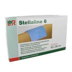 Stellaline 6 Pansement Stérile 10,0X20,0cm