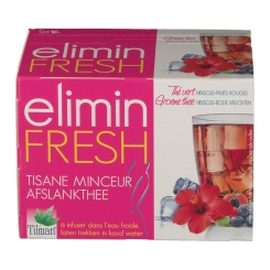 Tilman elimin Fresh tisane minceur Hibiscus - Fruits rouges