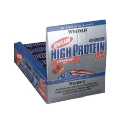 WEIDER LOW CARB HIGH PROTEIN BAR FRAISE
