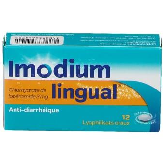 """Résultat de recherche d'images pour """"imodium lingual 12 pce"""""""