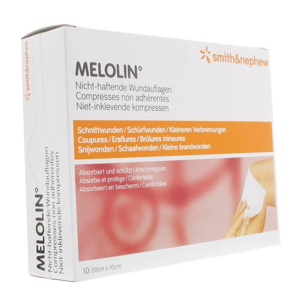 Melolin Compresse Strile 10cm X 20cm 1 10x10