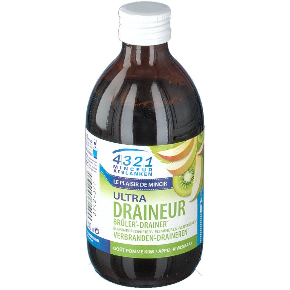 4321 Minceur Ultra Draineur Pomme-Kiwi - shop-pharmacie.fr