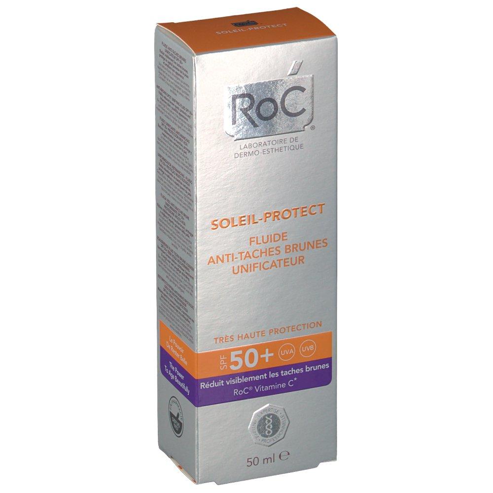 roc soleil protect fluide anti taches brunes unificateur spf50 shop. Black Bedroom Furniture Sets. Home Design Ideas