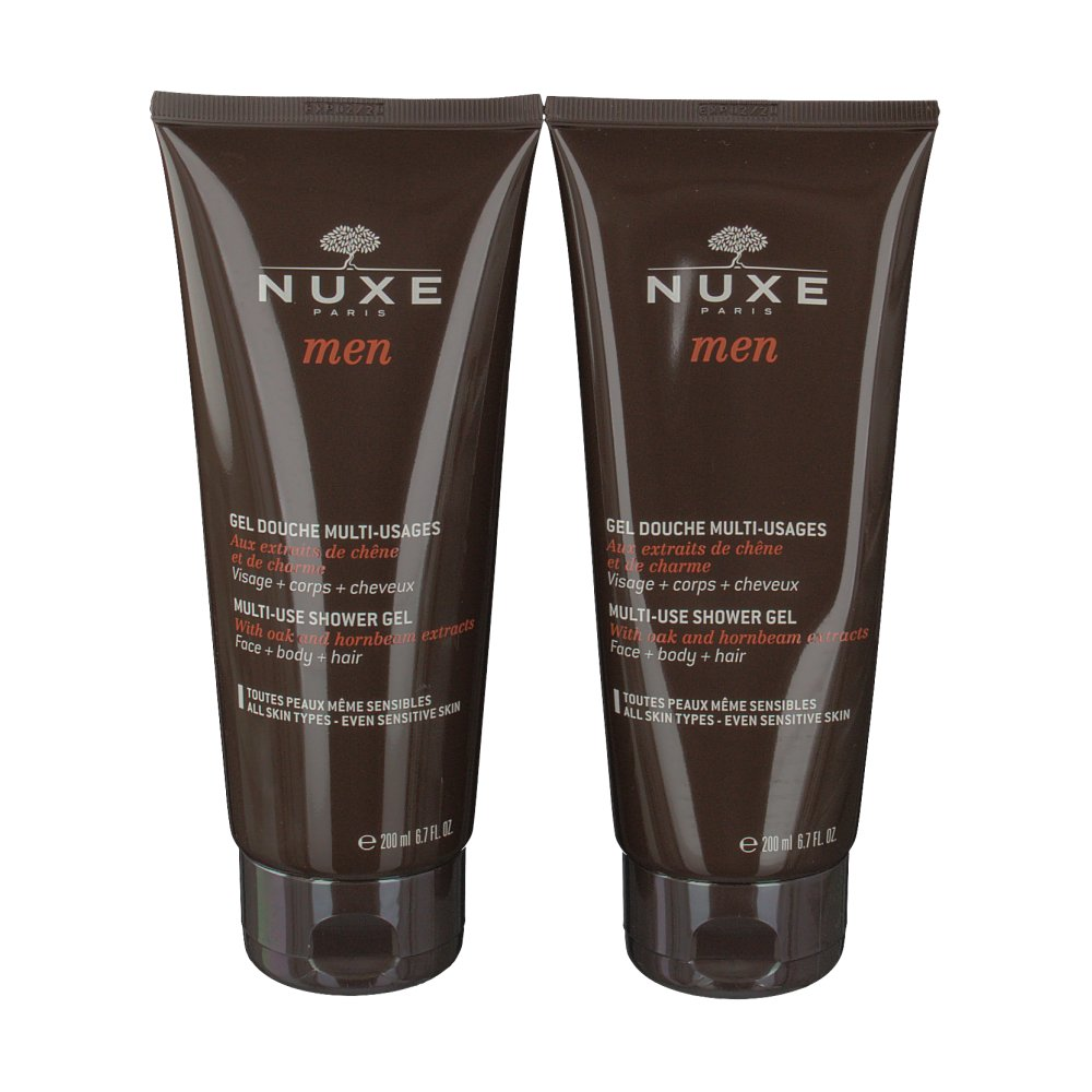 Nuxe Men Gel Douche Multi-usages 2x200ml