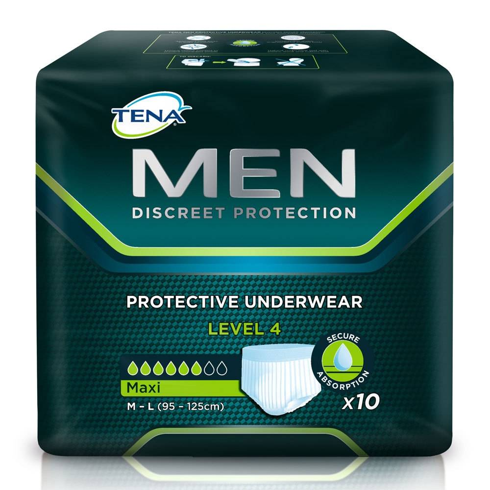 tena protective underwear men level 4 m l shop. Black Bedroom Furniture Sets. Home Design Ideas
