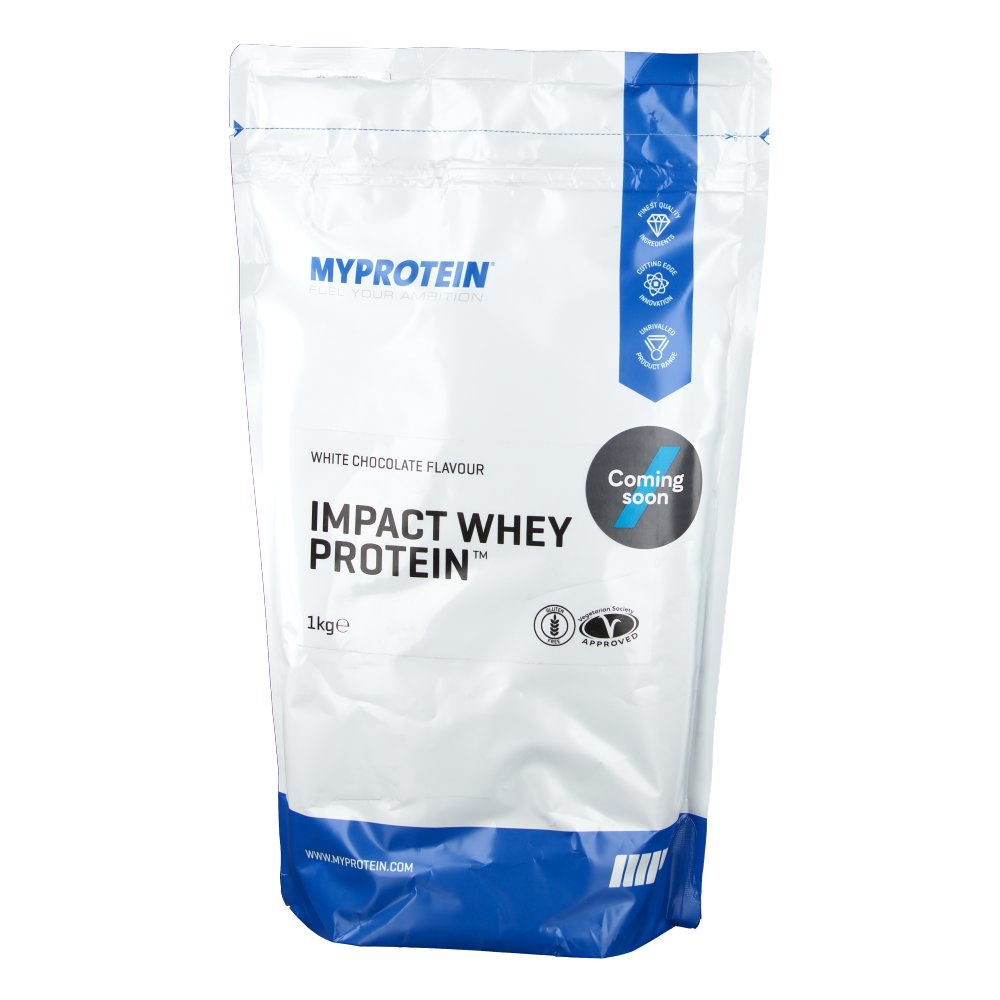 myprotein impact whey protein chocolat blanc shop. Black Bedroom Furniture Sets. Home Design Ideas