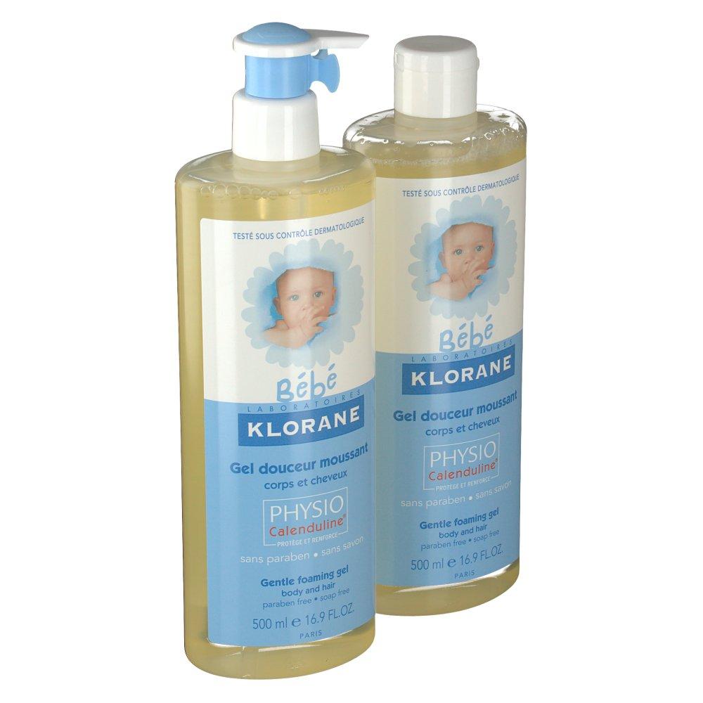 klorane b b gel douceur moussant corps et cheveux shop. Black Bedroom Furniture Sets. Home Design Ideas