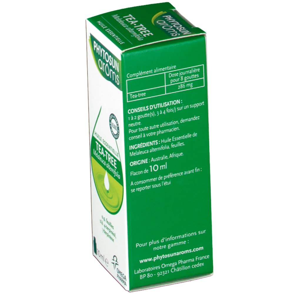 Phytosun aroms huile essentielle tea tree shop - Huile essentielle tee tree ...