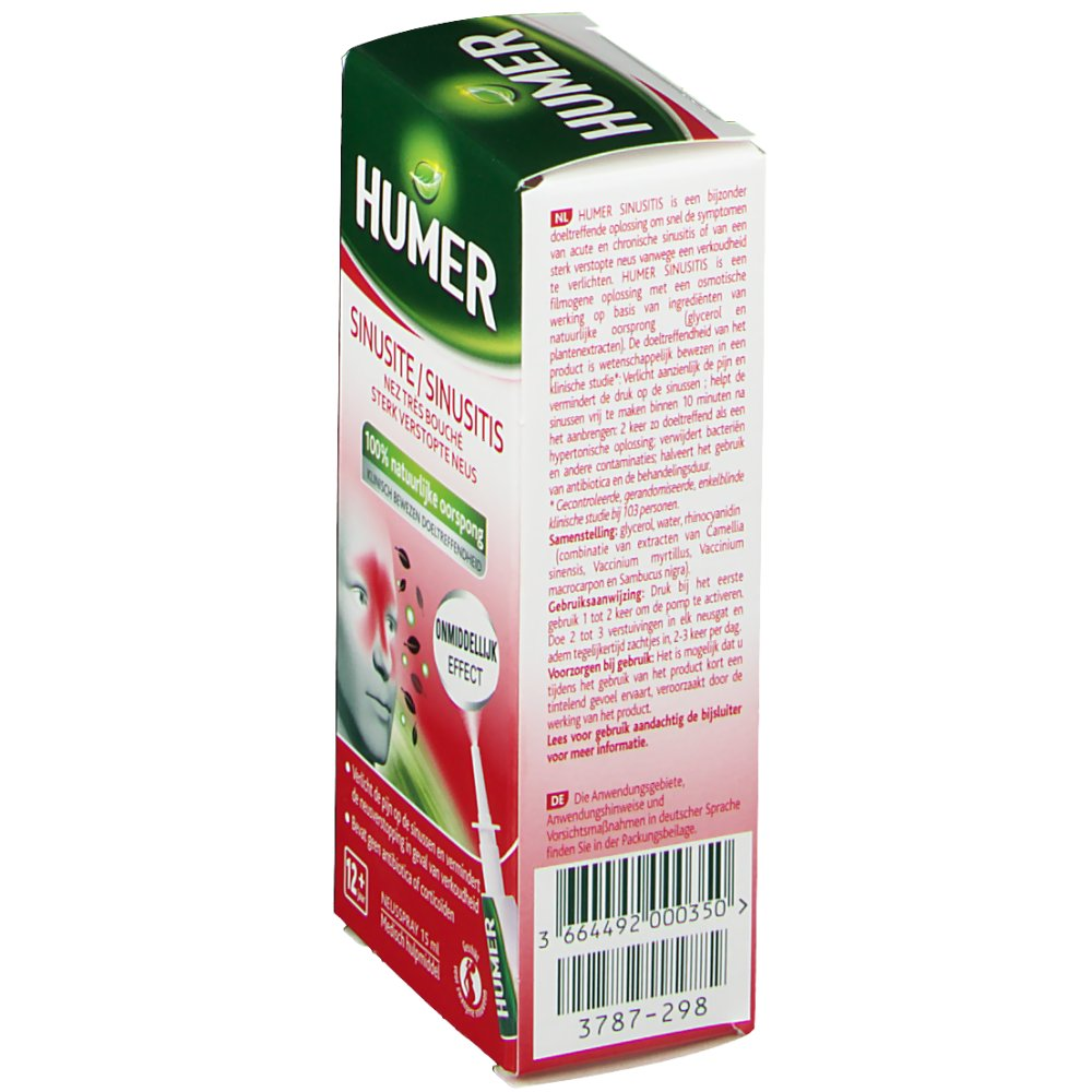 Urgo Humer spray nasal sinusite rhume - shop-pharmacie.fr
