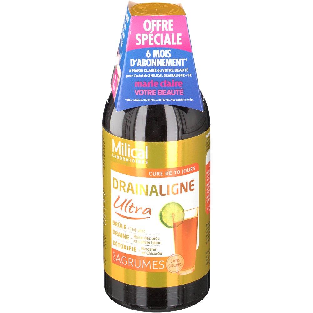 Milical Drainaligne Ultra Agrumes - shop-pharmacie.fr