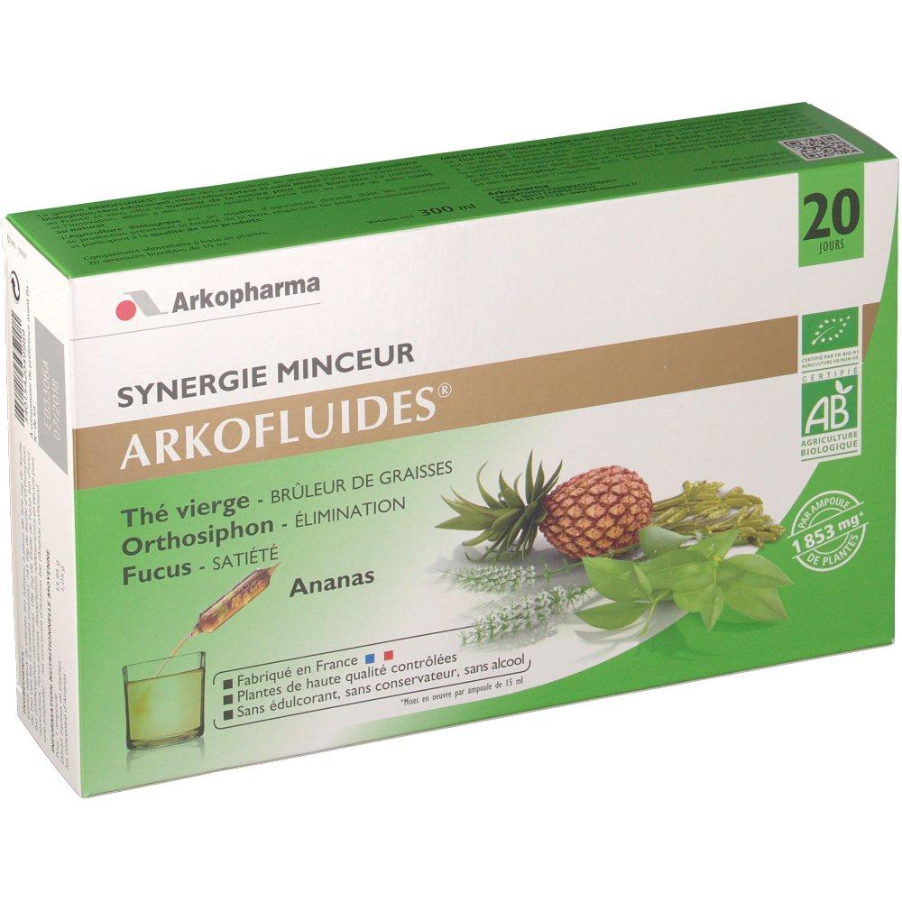 arkopharma arkofluides bio synergie minceur shop. Black Bedroom Furniture Sets. Home Design Ideas
