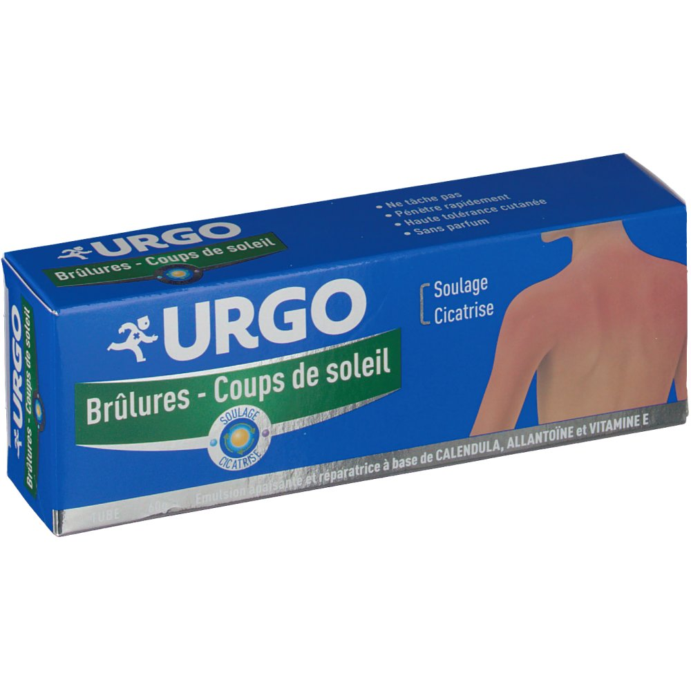 Urgo brulures coup de soleil shop - Creme anti coup de soleil ...