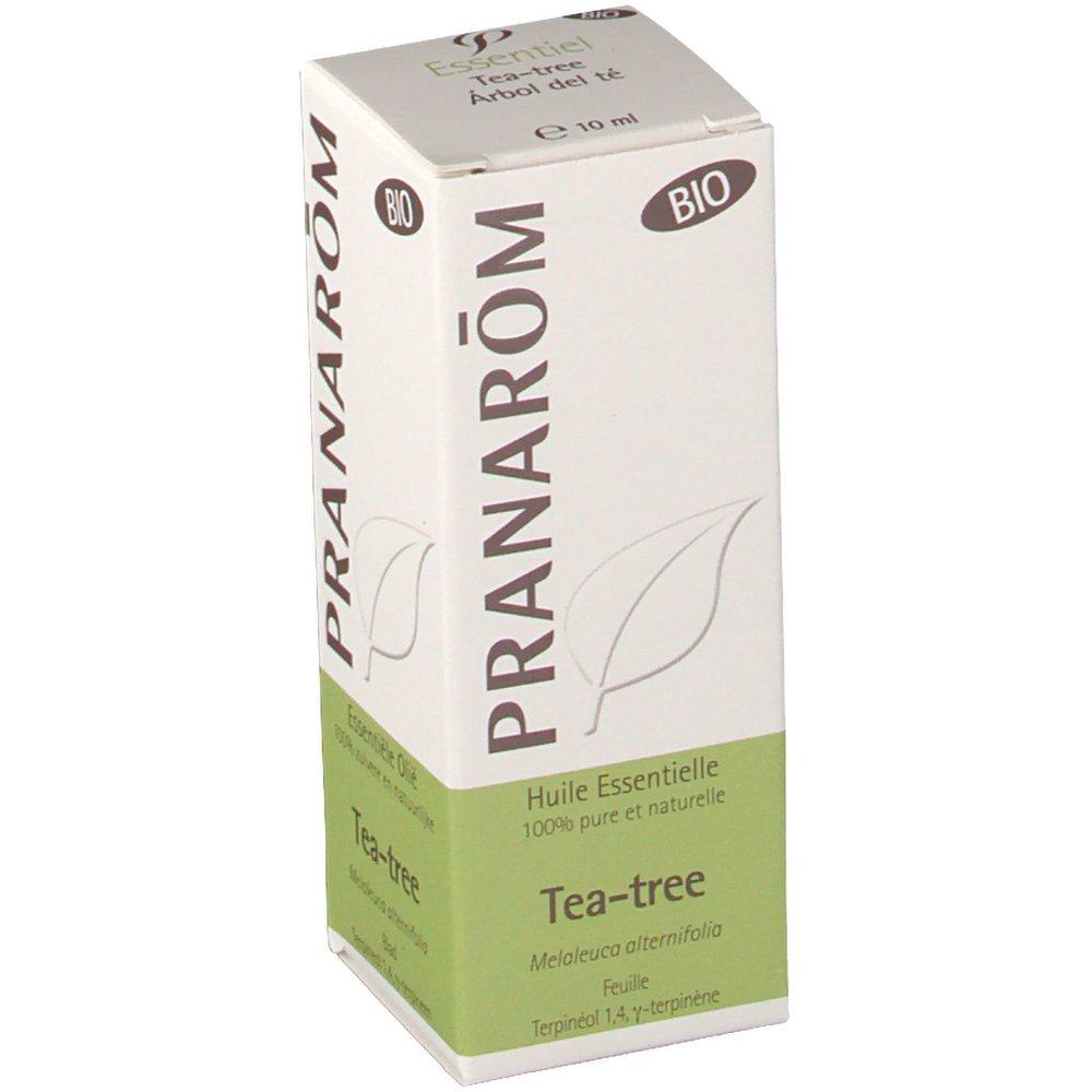 Pranarom huile essentielle tea tree melaleuca alternifolia bio shop - Huile essentielle tee tree ...