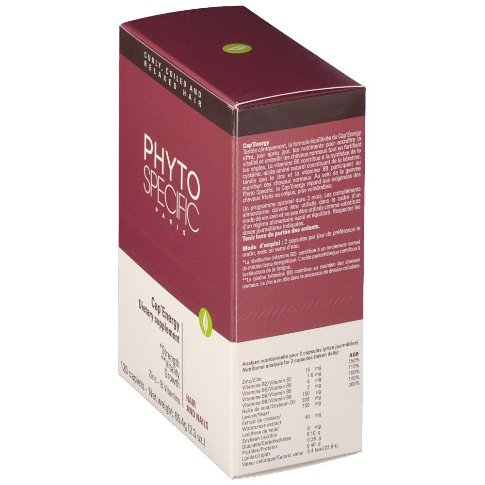 Phytospecific Cap'Energy complément alimentaire - shop
