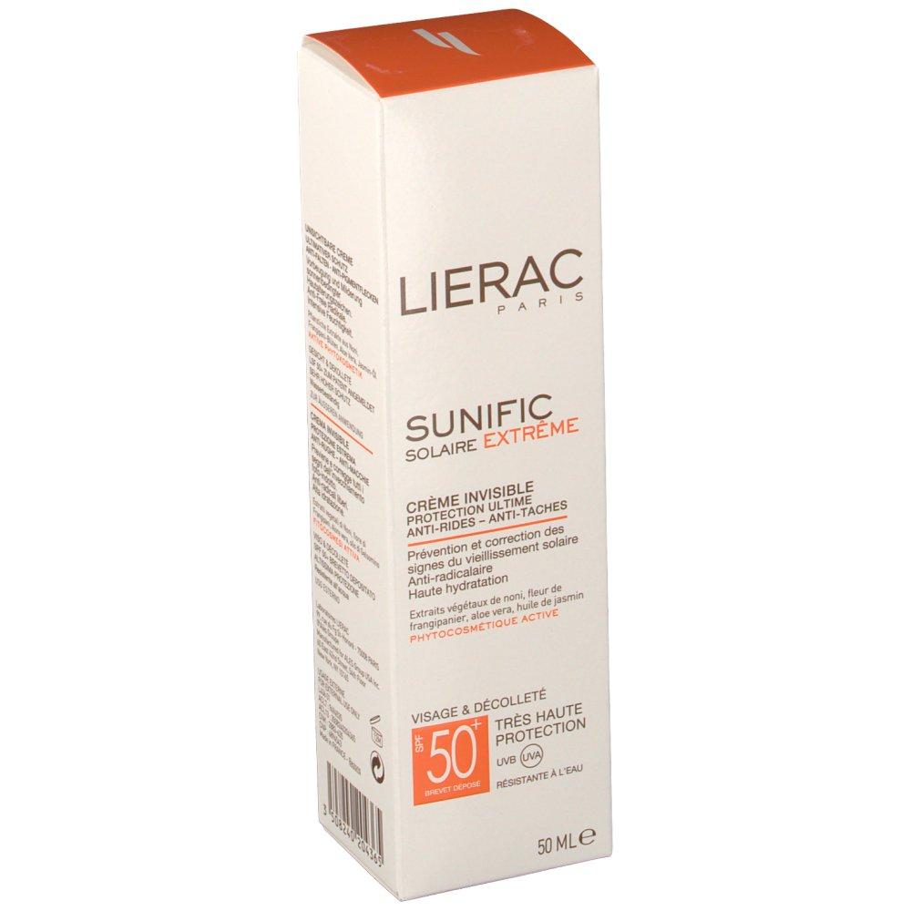 lierac sunific cr me invisible spf 50 anti tache shop. Black Bedroom Furniture Sets. Home Design Ideas