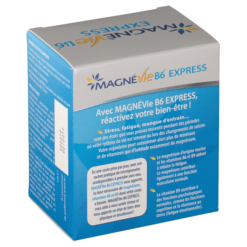 Magnevie B6 Express - shop-pharmacie.fr