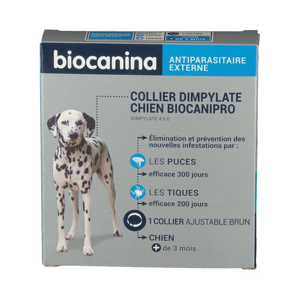 biocanina collier insecticide biocanipro pour chien shop. Black Bedroom Furniture Sets. Home Design Ideas