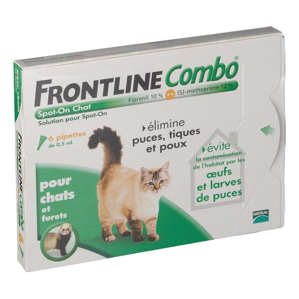 Frontline combo pour chat et furet shop - Frontline combo chat pas cher ...