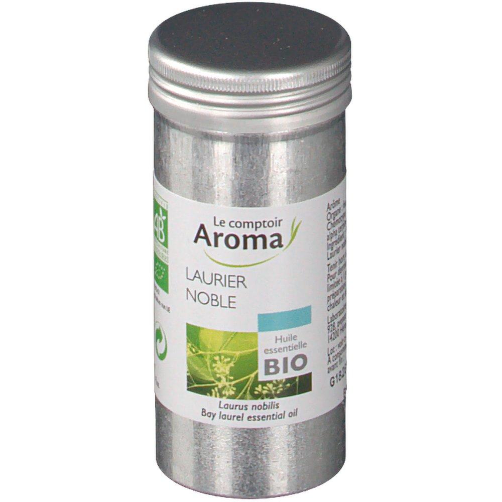 le comptoir aroma huile essentielle laurier noble shop pharmacie fr