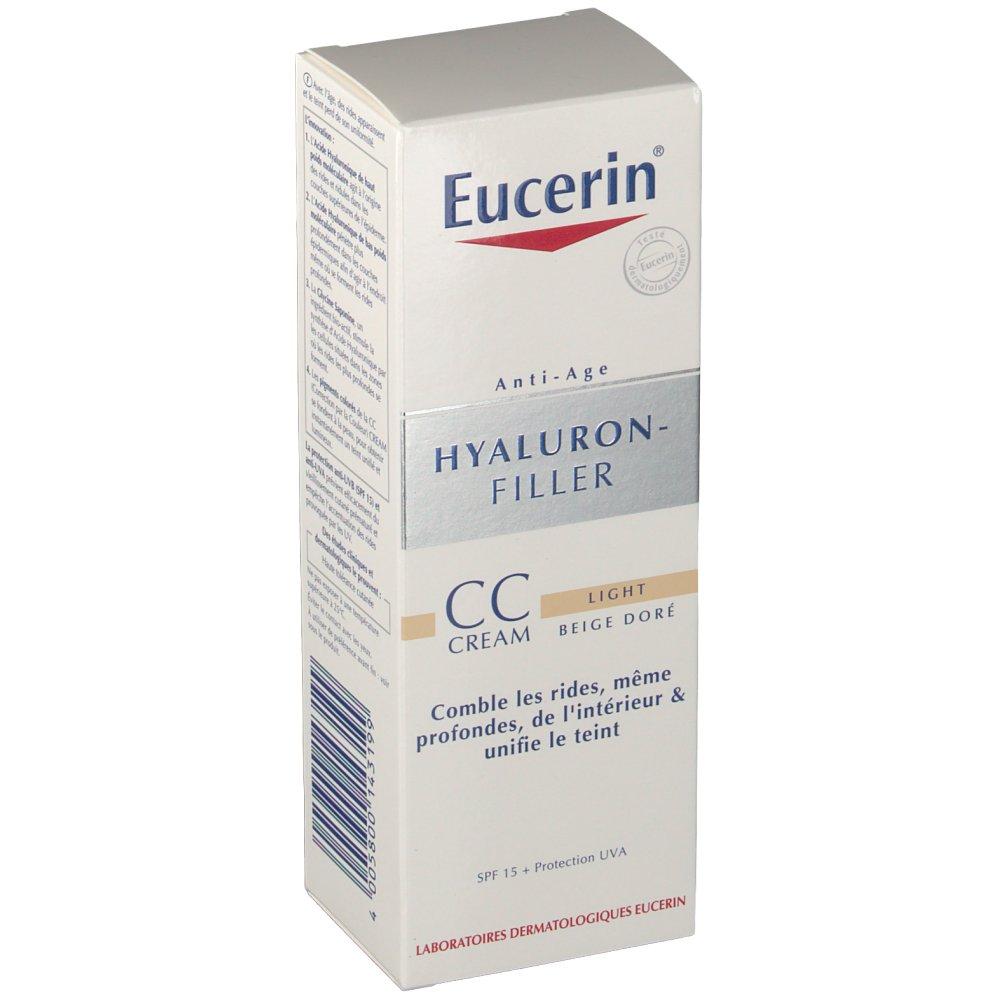 eucerin hyaluron filler cc cream light shop. Black Bedroom Furniture Sets. Home Design Ideas