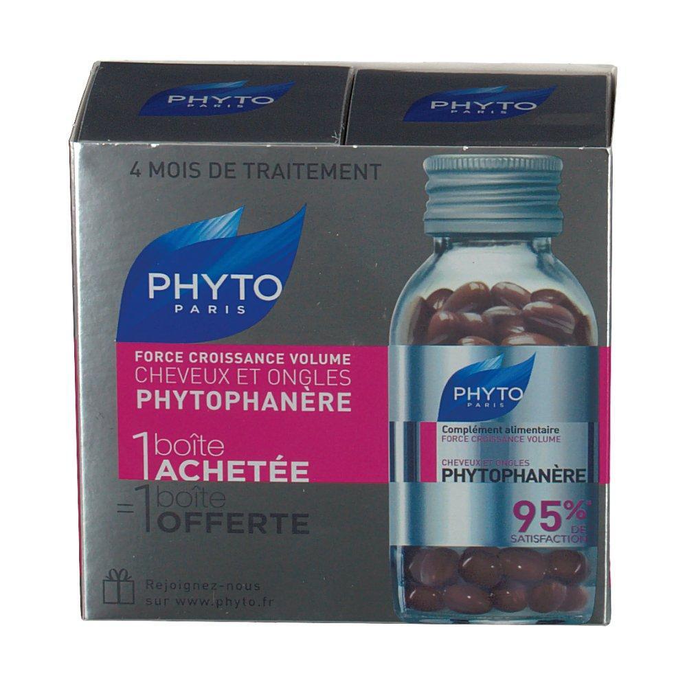 Phyto Phytophanère Force croissance volume cheveux et ...