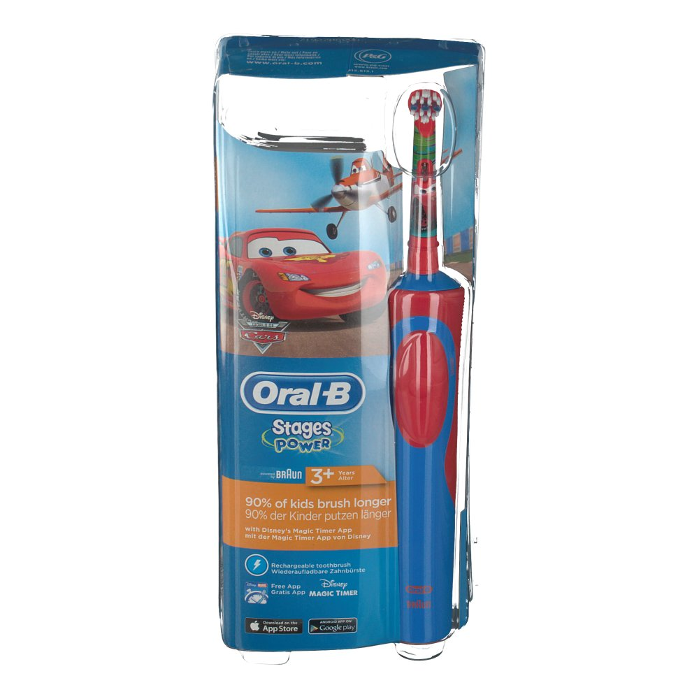 oral b stages power cars brosse dents lectrique enfants shop. Black Bedroom Furniture Sets. Home Design Ideas