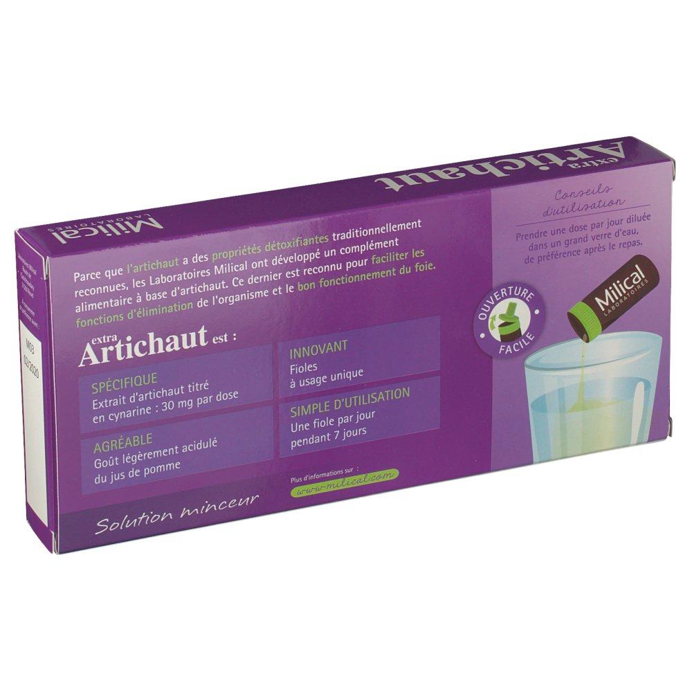 Milical extra Artichaut Détox - shop-pharmacie.fr