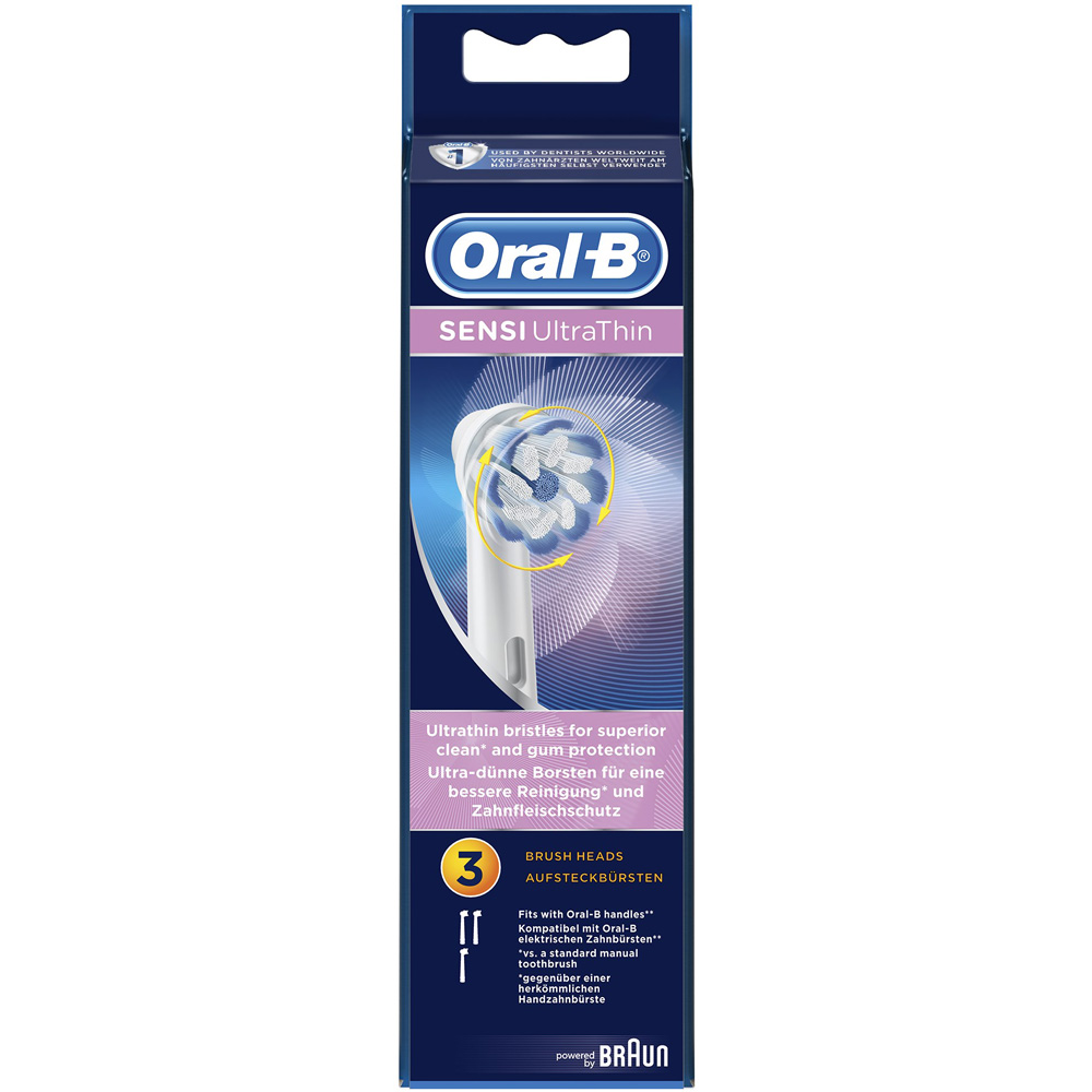 oral b sensi ultrathin brossettes de rechange shop. Black Bedroom Furniture Sets. Home Design Ideas